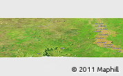Satellite Panoramic Map of Ad Damazīn