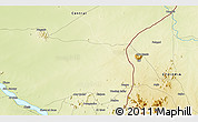 Physical 3D Map of Ābu Ramla