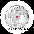 Outline Map of Ābu Ramla, rectangular outline