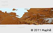 Physical Panoramic Map of Bahir Dar