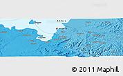 Political Panoramic Map of Bahir Dar