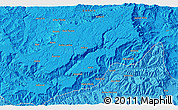 """Political 3D Map of the area around 11°40'49""""N,39°10'29""""E"""