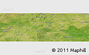Satellite Panoramic Map of Boromo