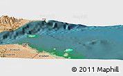 Satellite Panoramic Map of Djibouti