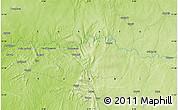 Physical Map of Mahuta