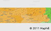 Political Panoramic Map of Lelasso