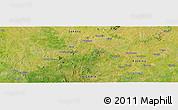 Satellite Panoramic Map of Bakai