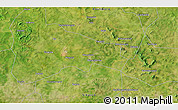 """Satellite 3D Map of the area around 11°40'49""""N,6°43'29""""W"""