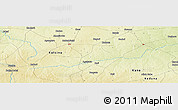 Physical Panoramic Map of Badari