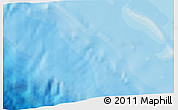 """Political 3D Map of the area around 11°40'49""""N,87°28'29""""W"""