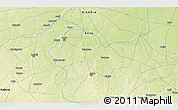 """Physical 3D Map of the area around 11°40'49""""N,8°34'29""""E"""