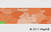 """Political Panoramic Map of the area around 11°40'49""""N,8°34'29""""E"""