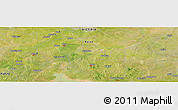 "Satellite Panoramic Map of the area around 11°40'49""N,8°34'29""E"