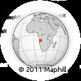 Outline Map of Conda, rectangular outline