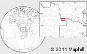 Blank Location Map of Caembe