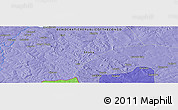 "Political Panoramic Map of the area around 11° 20' 3"" S, 27° 16' 29"" E"