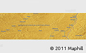 "Physical Panoramic Map of the area around 11° 20' 3"" S, 28° 7' 30"" E"