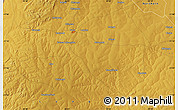 """Physical Map of the area around 11°20'3""""S,28°58'30""""E"""