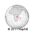 Outline Map of Mabumba, rectangular outline