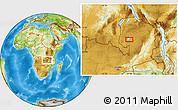 Physical Location Map of Samfya