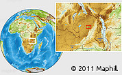 Physical Location Map of Chikakala