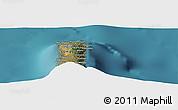 "Satellite Panoramic Map of the area around 11°20'3""S,43°25'29""E"