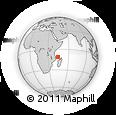 "Outline Map of the Area around 11° 20' 3"" S, 44° 16' 29"" E, rectangular outline"