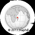 "Outline Map of the Area around 11° 20' 3"" S, 45° 58' 30"" E, rectangular outline"