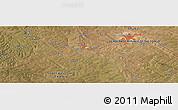 "Satellite Panoramic Map of the area around 11°51'9""S,27°16'29""E"
