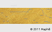 "Physical Panoramic Map of the area around 11° 51' 9"" S, 28° 7' 30"" E"