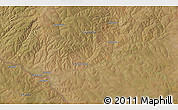 """Satellite 3D Map of the area around 11°51'9""""S,28°58'30""""E"""