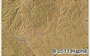 Satellite Map of Kisengere