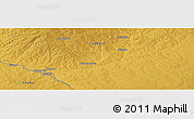 Physical Panoramic Map of Kasoma Lwela