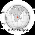 "Outline Map of the Area around 11° 51' 9"" S, 29° 49' 30"" E, rectangular outline"