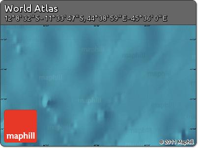 "Satellite Map of the Area around 11°51'9""S,45°7'30""E"