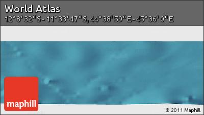 "Satellite Panoramic Map of the Area around 11°51'9""S,45°7'30""E"