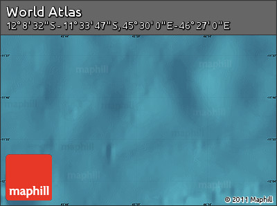"Satellite Map of the Area around 11°51'9""S,45°58'30""E"