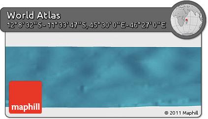 "Satellite Panoramic Map of the Area around 11°51'9""S,45°58'30""E"