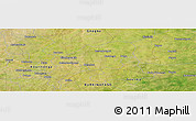 Satellite Panoramic Map of Fada N'Gourma