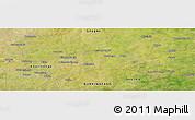 Satellite Panoramic Map of Bosangré
