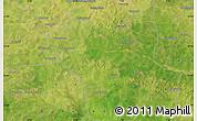 Satellite Map of Kodiéné