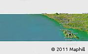 "Satellite Panoramic Map of the area around 12°11'54""N,102°4'29""E"