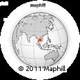 Outline Map of Phumĭ Tŭk Lŭy, rectangular outline