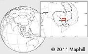Blank Location Map of Barayn