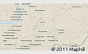 Shaded Relief 3D Map of Phumĭ Kâmpóng Dâmrei