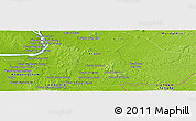 Physical Panoramic Map of Chhlong