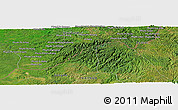 "Satellite Panoramic Map of the area around 12°11'54""N,107°10'30""E"