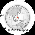 Outline Map of Coron, rectangular outline