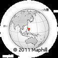 Outline Map of General Luna Elementary School, rectangular outline