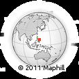 Outline Map of Japitan, rectangular outline